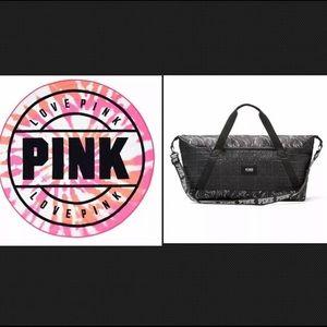 *BUNDLE* VS PINK Tie Dye Circular Towel/Tote